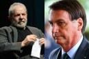 Em nova pesquisa, Lula lidera com 55% contra 32% de Bolsonaro no segundo turno
