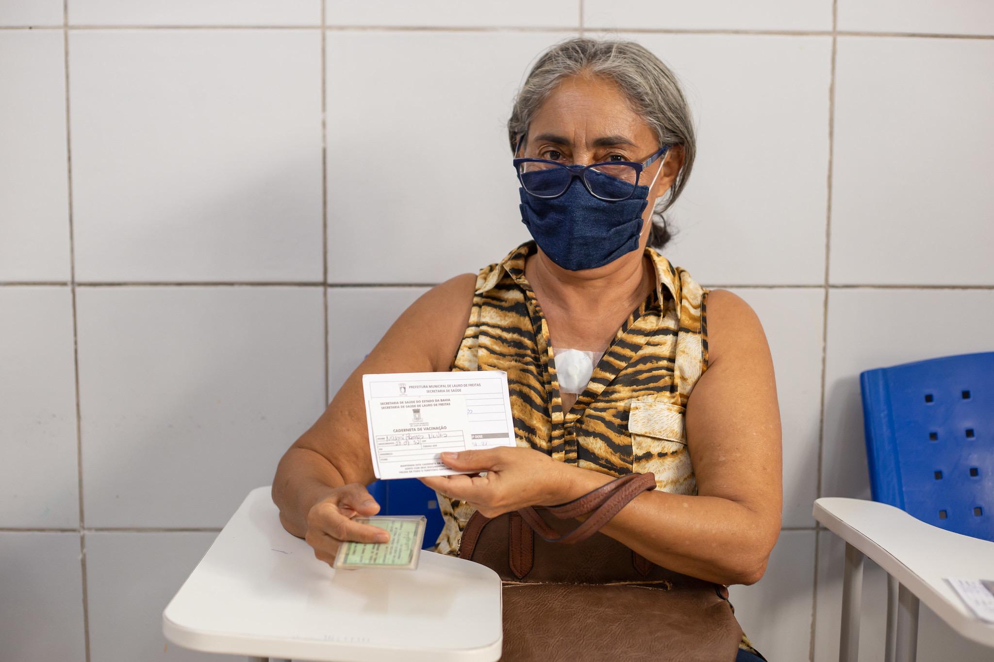 Campanha de vacinação contra a gripe já imunizou sete mil pessoas em Lauro de Freitas