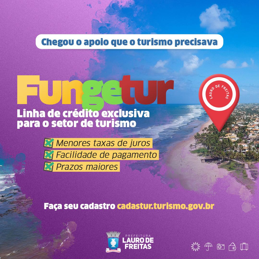 Empresas de turismo com registro no Cadastur podem acessar linhas de crédito por meio do FUNGETUR