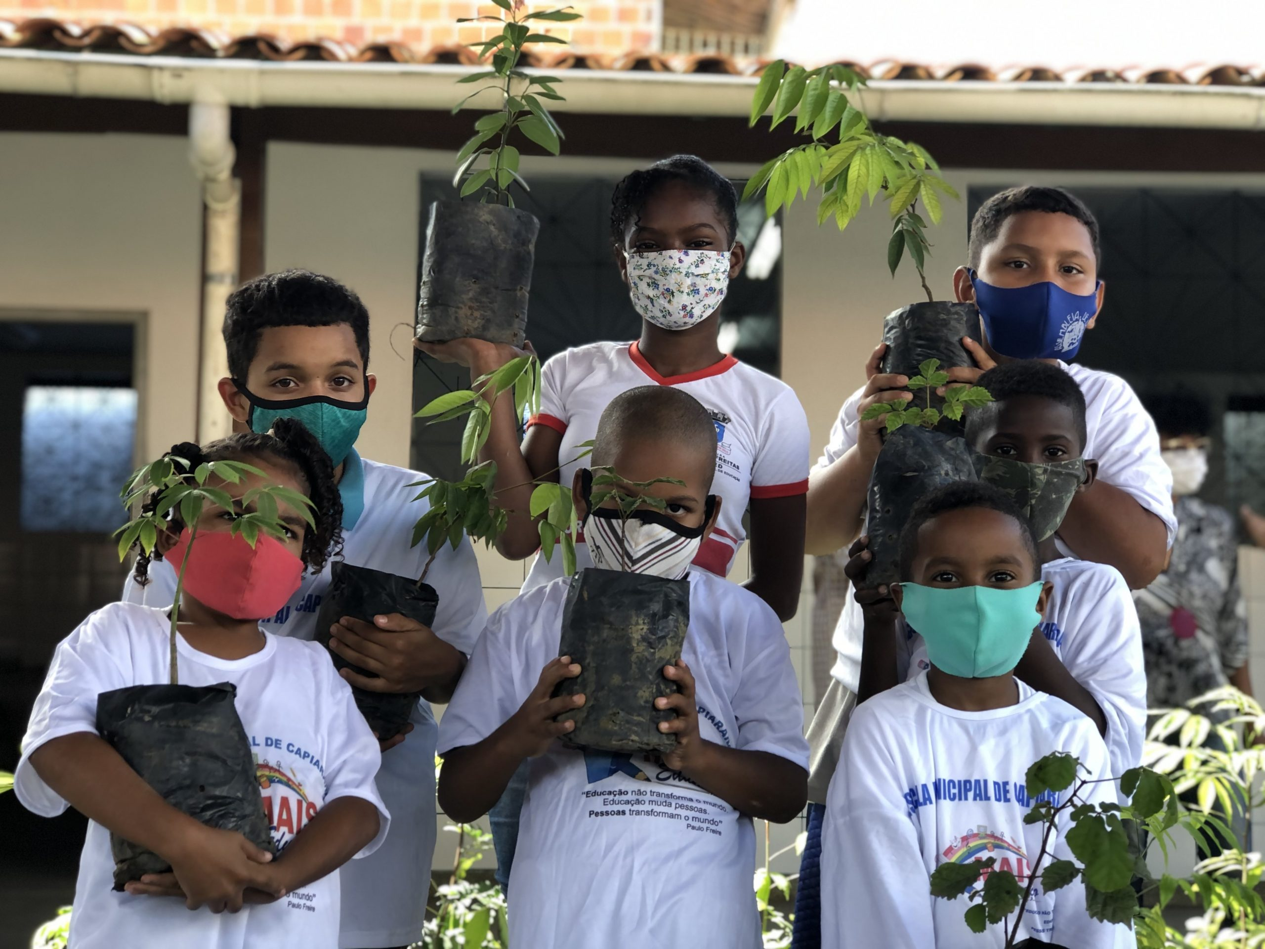 Escola Municipal Capiarara lança projeto para o Dia Mundial do Meio Ambiente