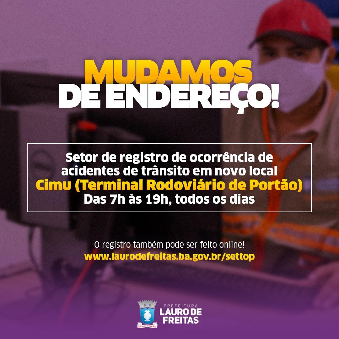 Setor para registro de ocorrências de trânsito em Lauro de Freitas está funcionando no CIMU