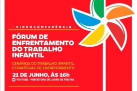 Prefeitura realiza videoconferência sobre enfrentamento do trabalho infantil nesta segunda-feira (21)