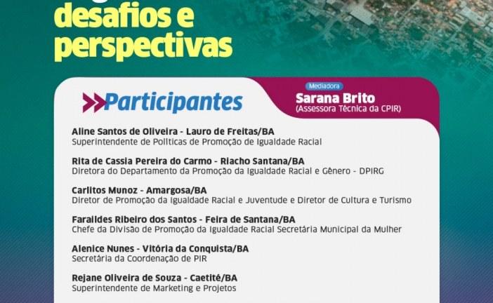 Lauro de Freitas promove live sobre o Mapeamento Municipal de Organizações Negras nesta quarta-feira (16)