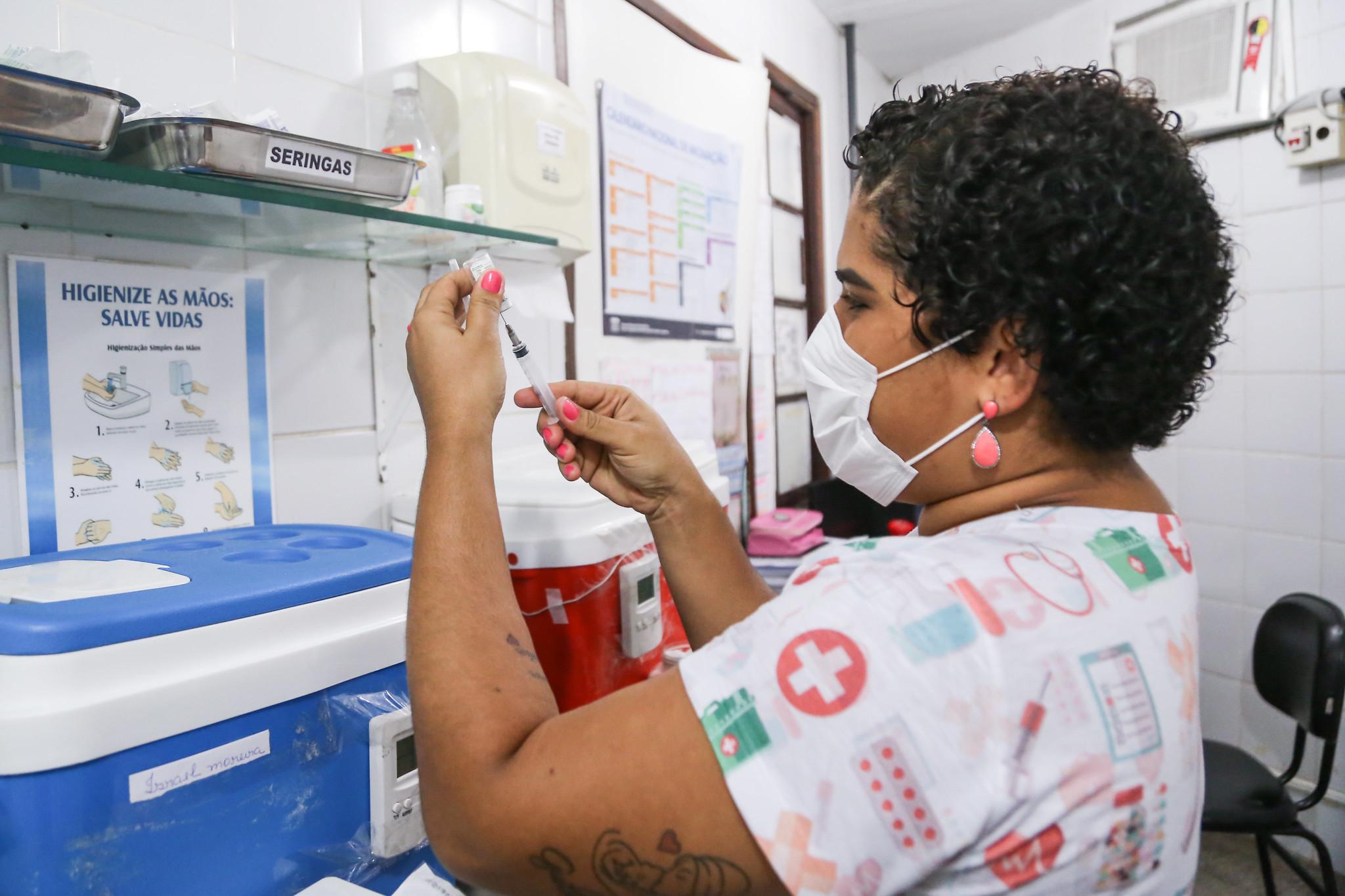 Com baixa adesão, campanha de vacinação contra gripe entra na terceira etapa nesta quarta-feira (9) em Lauro de Freitas