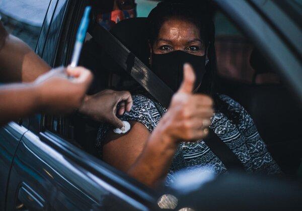 Bahia chega a marca de 6 milhões de vacinados com uma dose