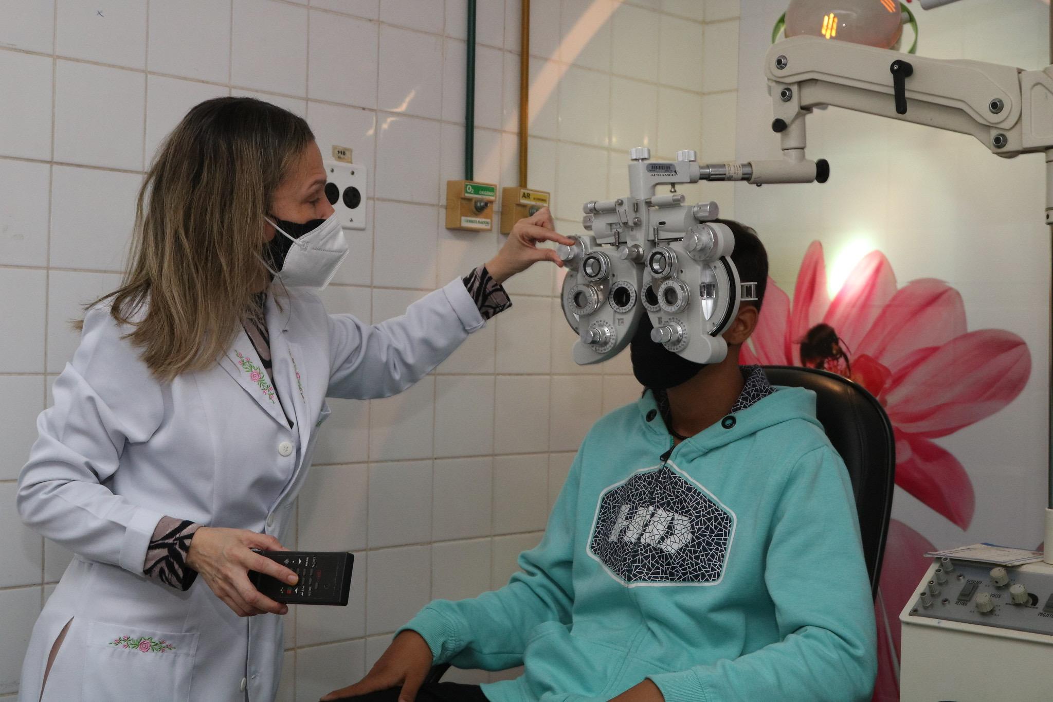 Saúde ocular: Hospital Municipal Jorge Novis é referência em atendimento de baixa e média complexidade