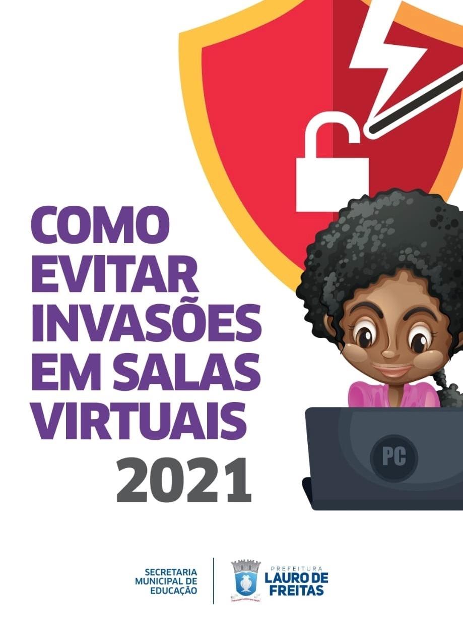 Educação lança cartilha digital para prevenir ataques de hackers em atividades virtuais