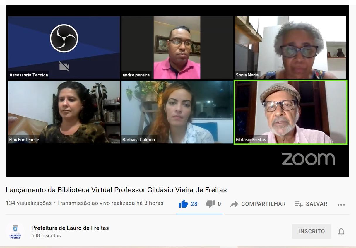 Lauro de Freitas ganha biblioteca virtual com um acervo de mais de 19 mil títulos