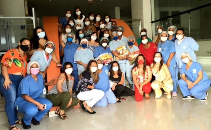 Enfermarias Solidárias no Hospital Espanhol