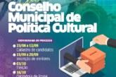 SECULT divulga cronograma para eleição do Conselho Municipal de Política Cultural