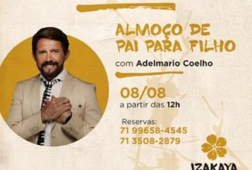 Dia dos pais com o forró de Adelmário Coelho é no Izakaya Hall