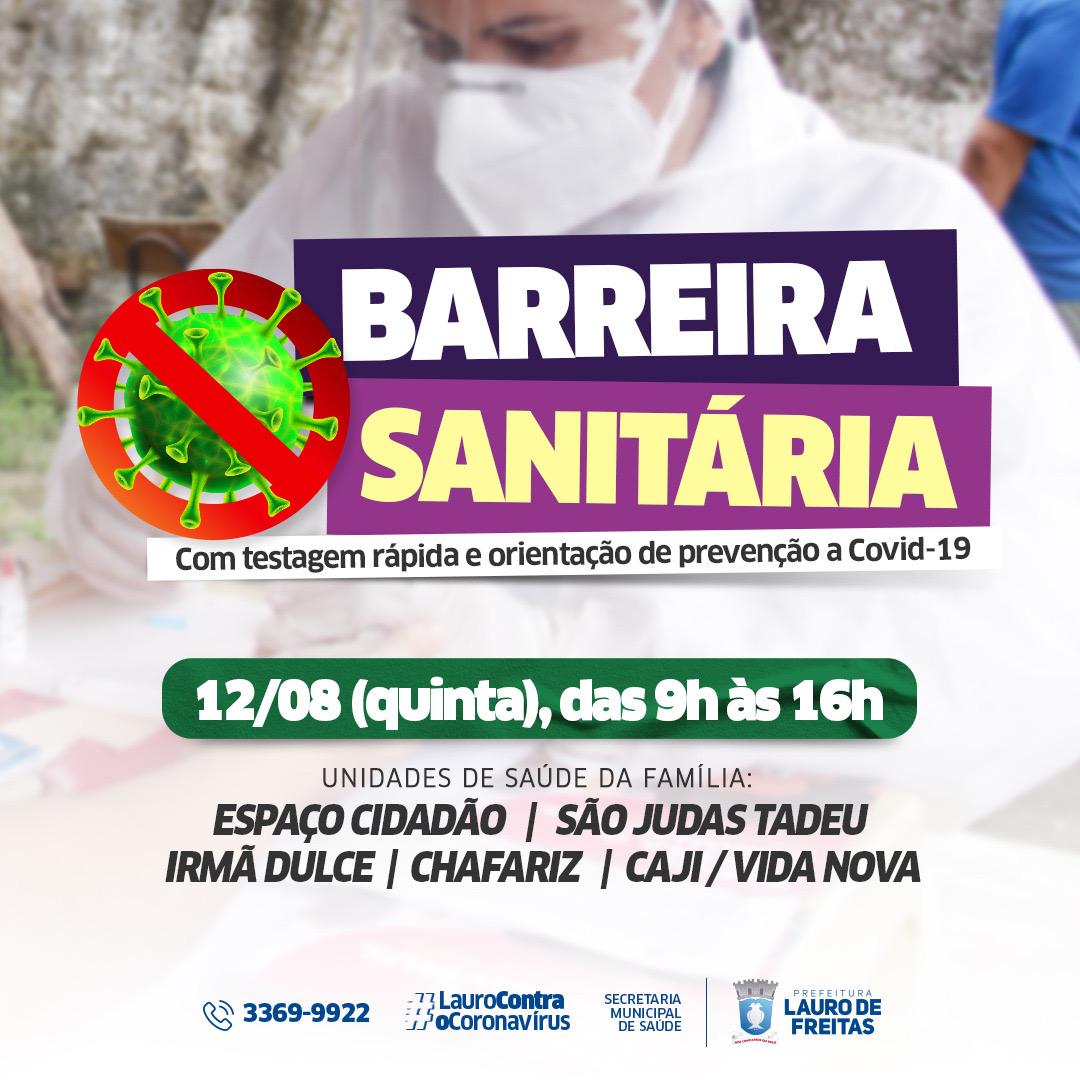 Lauro de Freitas vacina mais de 4 mil pessoas nesta quarta e alcança 70% do público-alvo