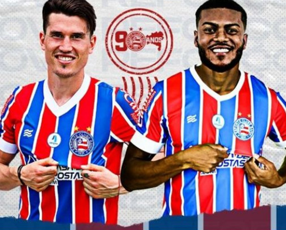 Bahia oficializa contratação de dupla de atacantes: Eugenio Isnaldo e Marcelo Cirino