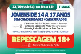 Lauro de Freitas alcança 50% do público-alvo com a 2ª dose da vacina contra a Covid-19