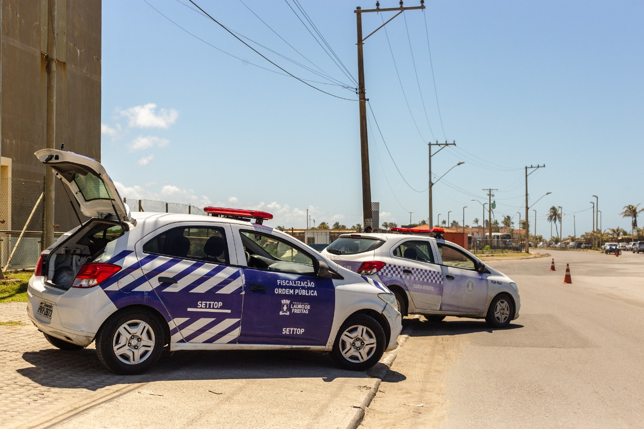 """""""Operação Independência"""", com ações de trânsito, segue até quarta-feira (8) em Lauro de Freitas. Veja o que funciona no feriado"""