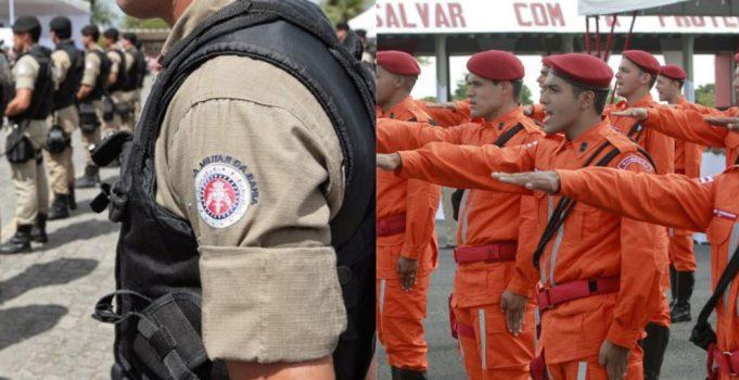 Governo da Bahia convoca aprovados nos concursos da PM e Corpo de Bombeiros para exames pré-admissionais