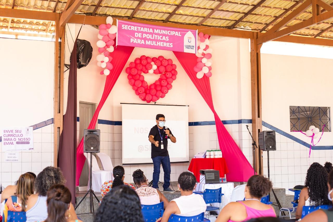SPM apresenta ações para o Outubro Rosa no encerramento do Capacita Mulher