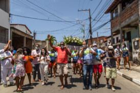 Fé e devoção marcaram festa em homenagem a São Francisco de Assis, neste domingo em Lauro de Freitas