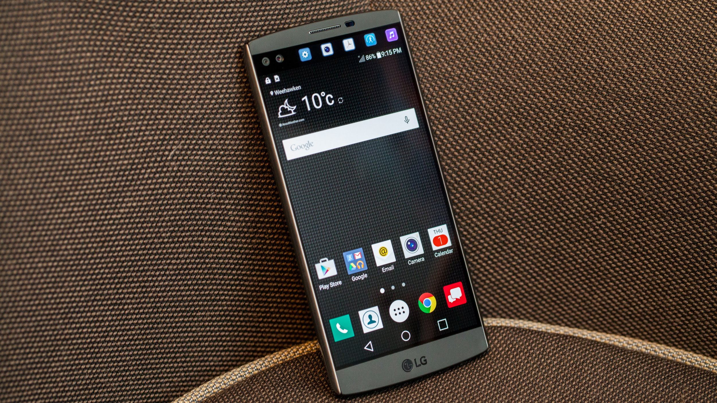 #3 in Our List of the Best LG Touchscreen Phones - LG V10