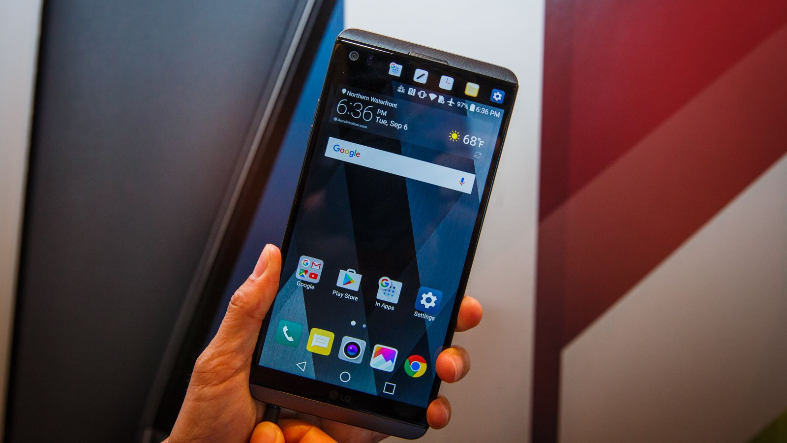 #1 in Our Best LG Touch Phone Lis - LG V20