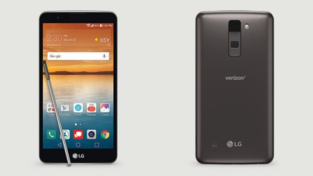 LG New Mobile List - LG Stylo 2 V