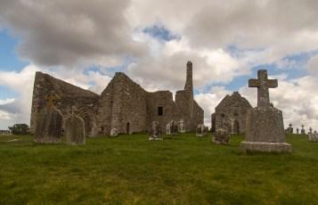 Clonmacnoise - Le site