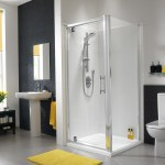 Twyford Es400 Pivot Shower Enclosure Door