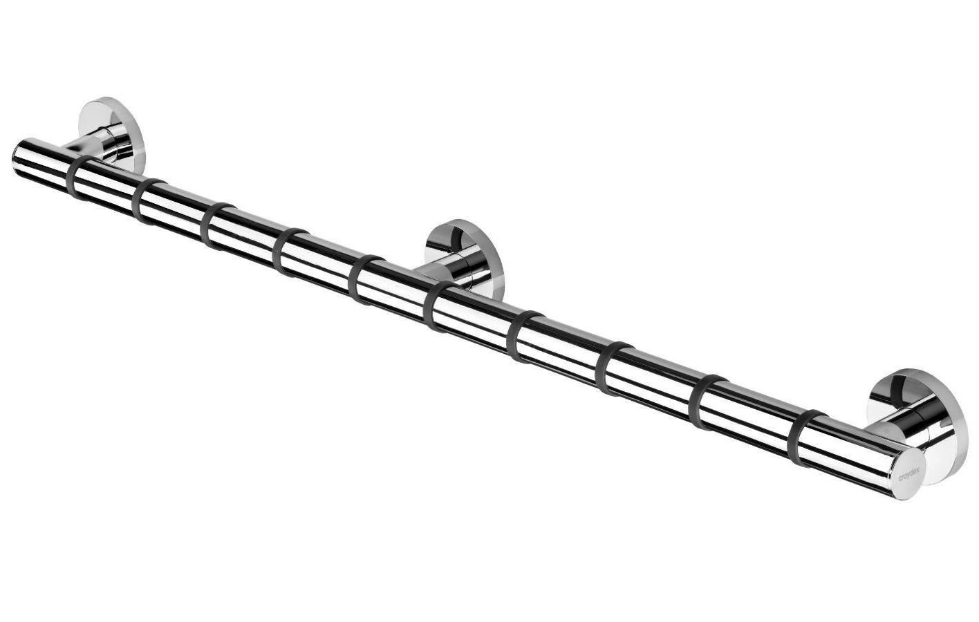 Croydex Grab N Grip Straight Grab Bar 810mm