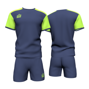Navy / Lime