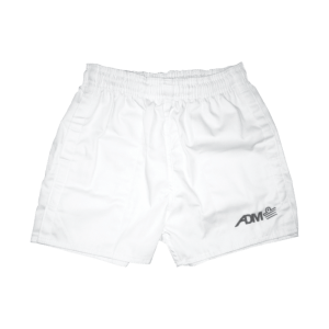 Rugby Botton Shorts White
