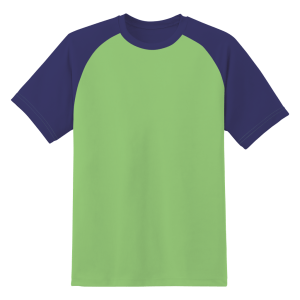 Admiral Two Tone T-shirt - Lime / Navy