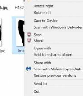How to remove personal data from image files - properties tab