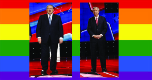 Mike Huckabee queerbaits Lindsey Graham / LGBTQ Nation
