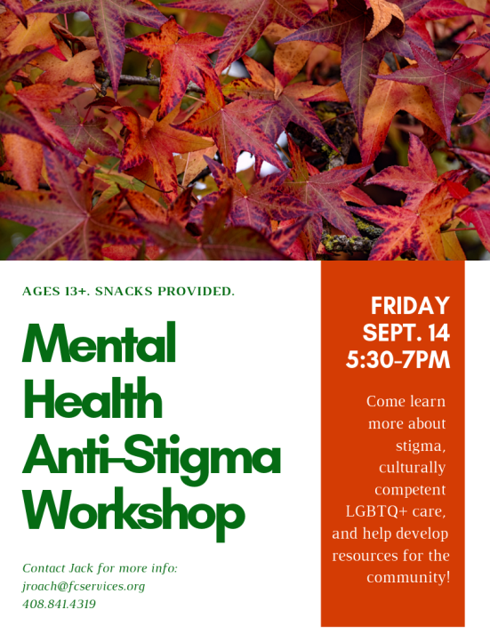 mental health anti-stigma workshop