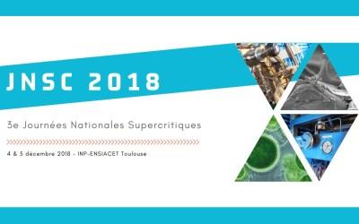 3e Journées Nationales Supercritiques
