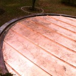 Standing Seam Copper Roofing Installation