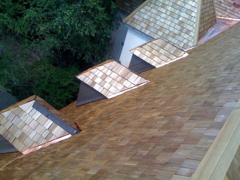 Wood Shake Roofing Installation