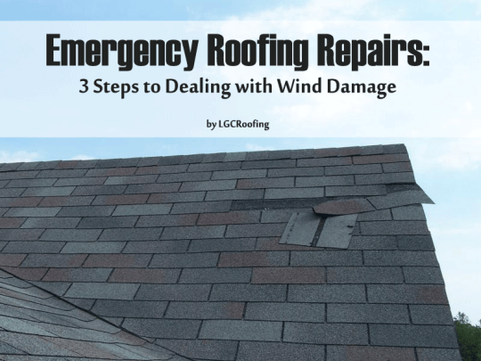Emergency Roofing Repairs: 3 Steps to Dealing with Wind Damage