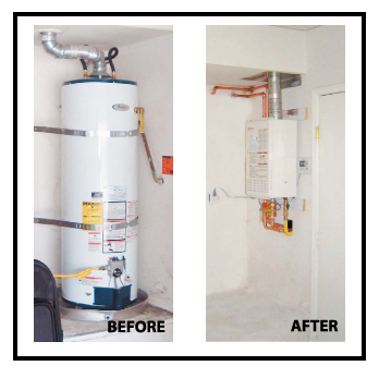 Tankless water heater installation san diego
