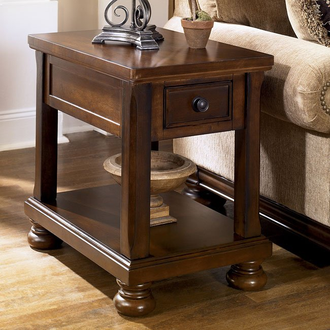Porter Chairside End Table Signature Design By Ashley