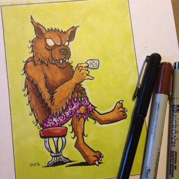 """""""Tea Time,"""" markers"""