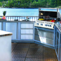 Lakeside Fierplace - Outdoor Kitchen-Banner