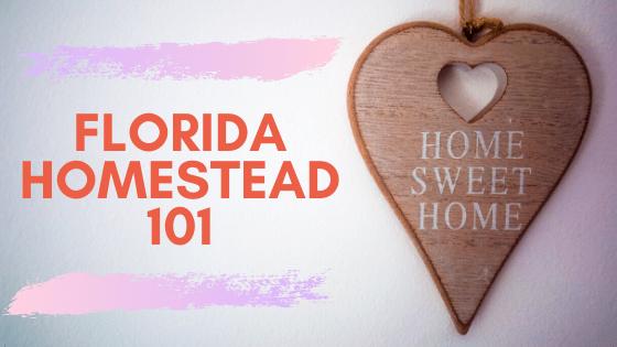 FLORIDA HOMESTEAD 101