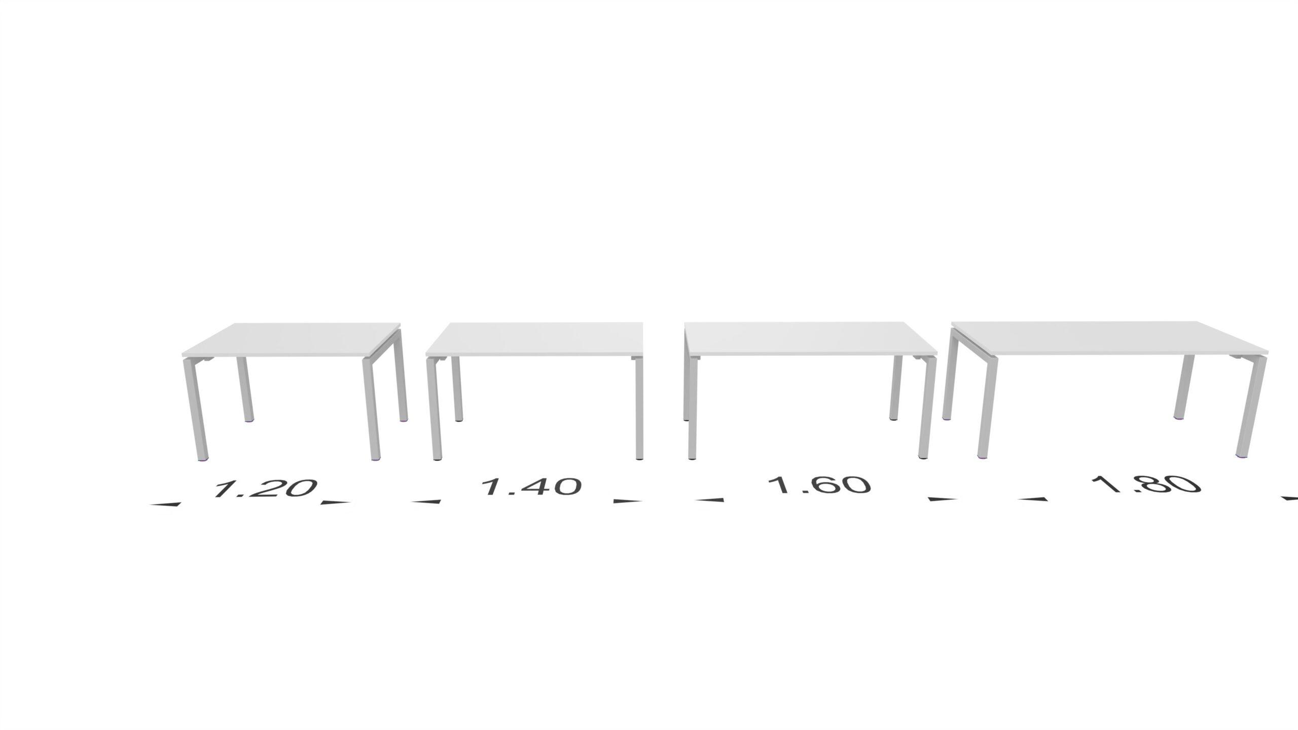 szerokośći biurka KOS