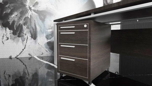 Kontener pod biurko na kółkach