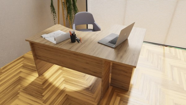 Duże biurko narożne