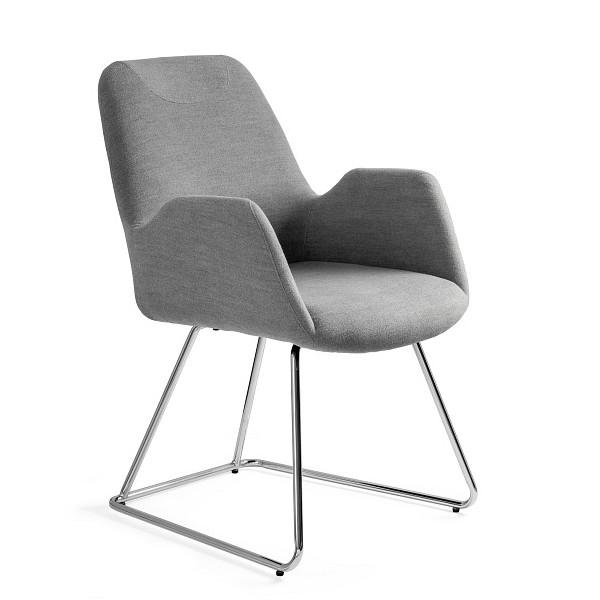 krzesło konferencyjne szare