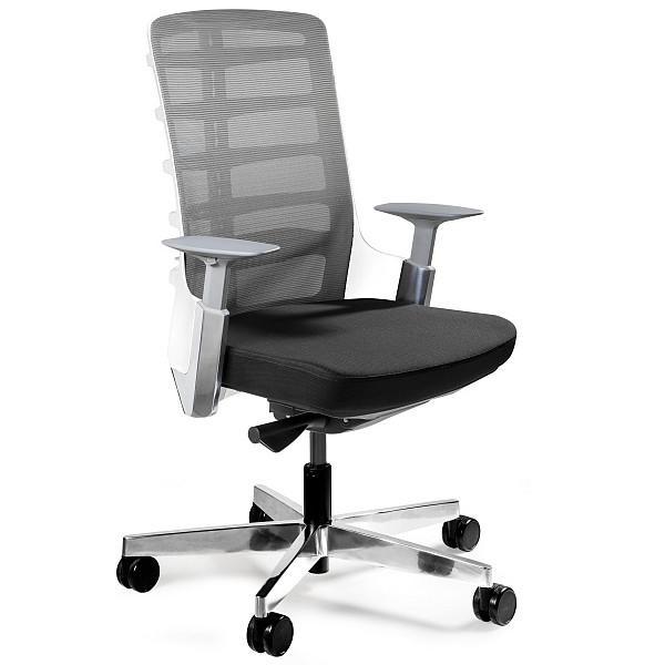 niski fotel ergonomiczny
