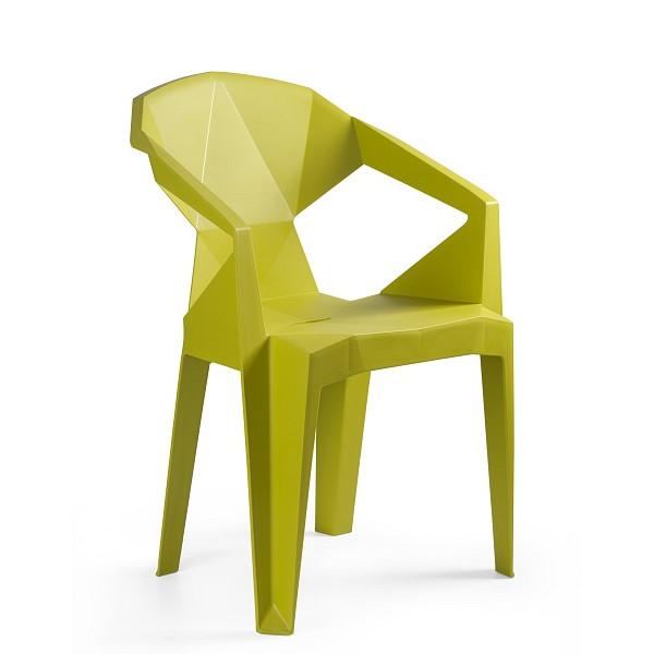 krzesło musztardowe