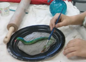 Nature-inspired Clay Class for Kids